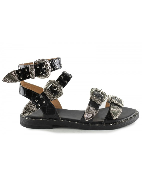 Sandales plates Alexia
